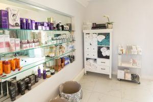 Skin Care Matis products on shelf