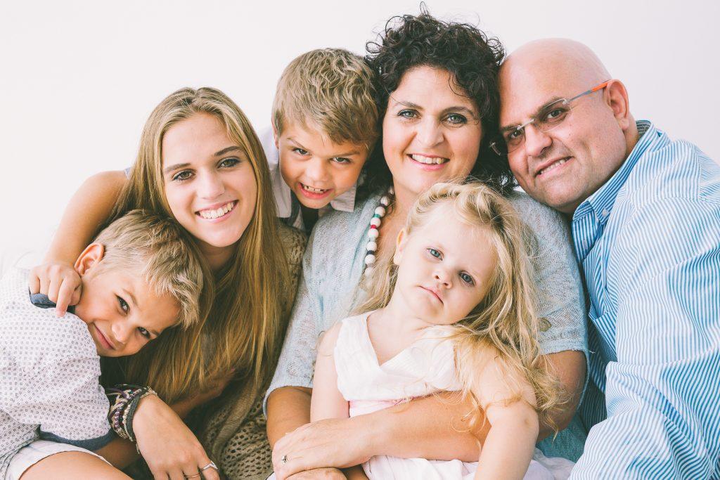 Johann and Elize Strauss family portrait
