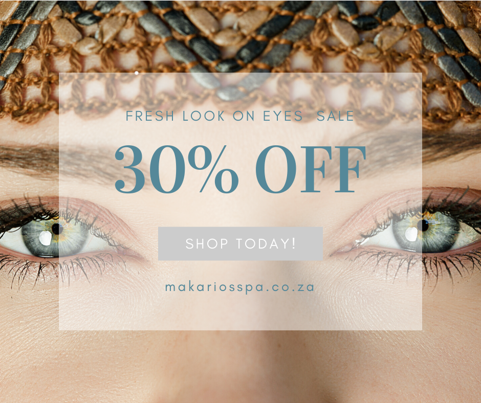 30% discount on all Matis make-up removers and Eye products.